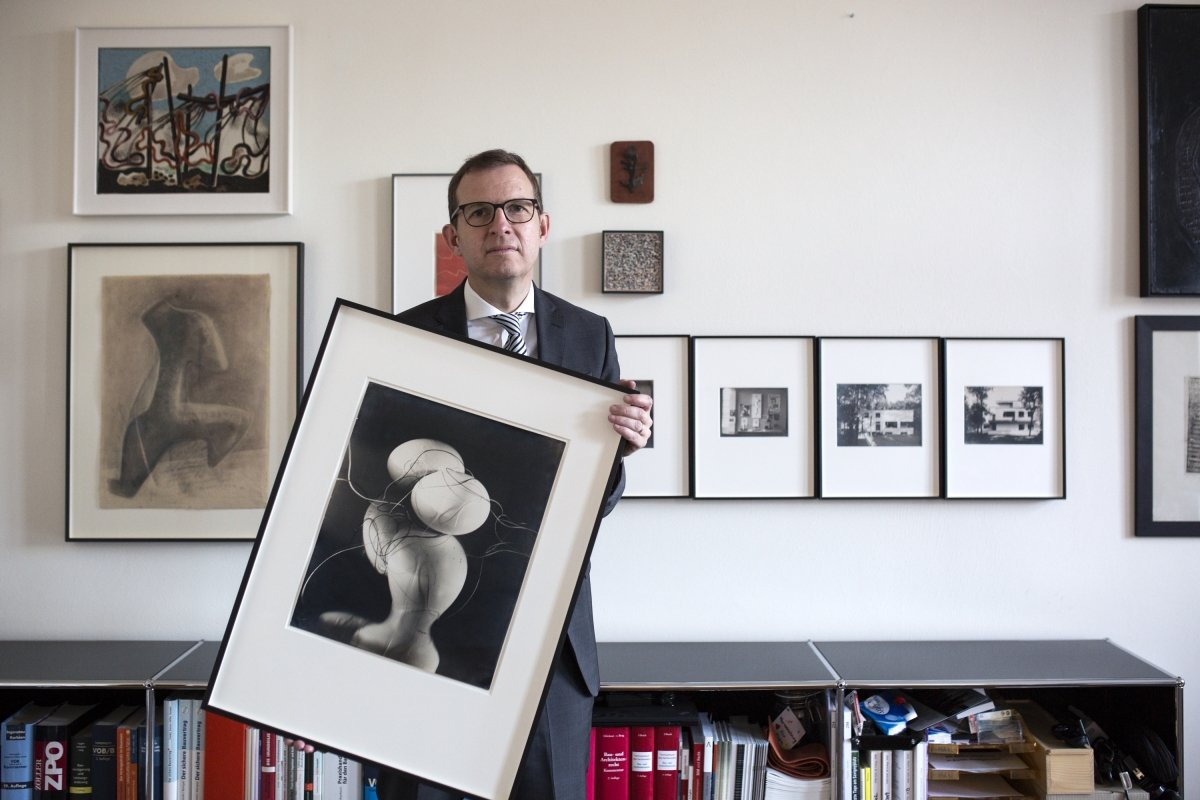 Ralf Kemper with his private collection